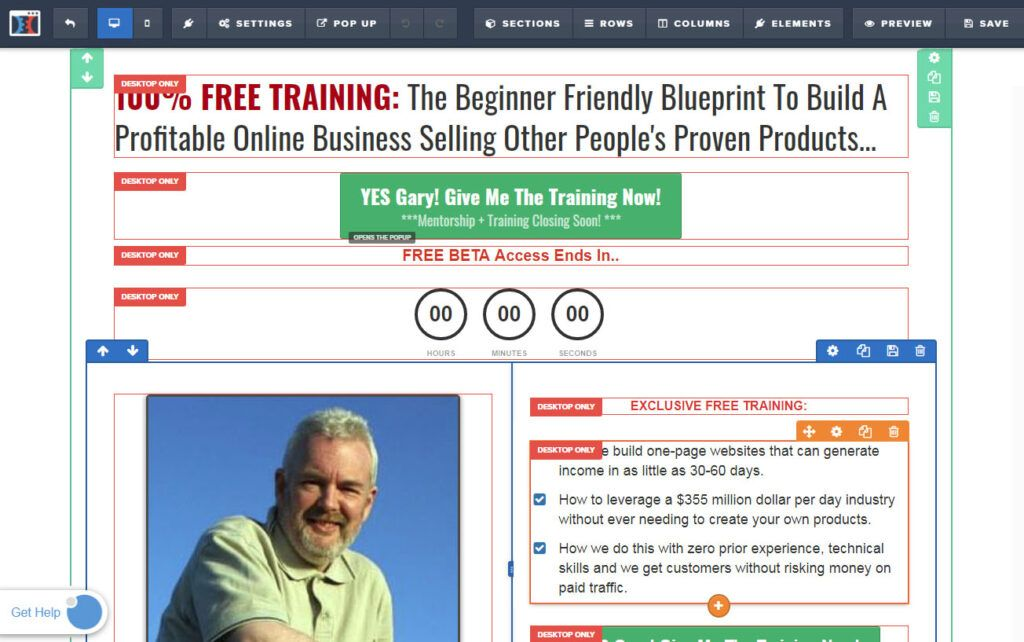 Clickfunnels® Page Elements