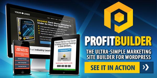 ProfitBuilder Page Builder WordPress Plugin