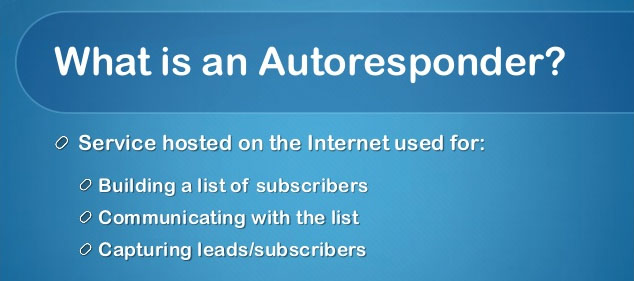 What Is An Autoresponder?