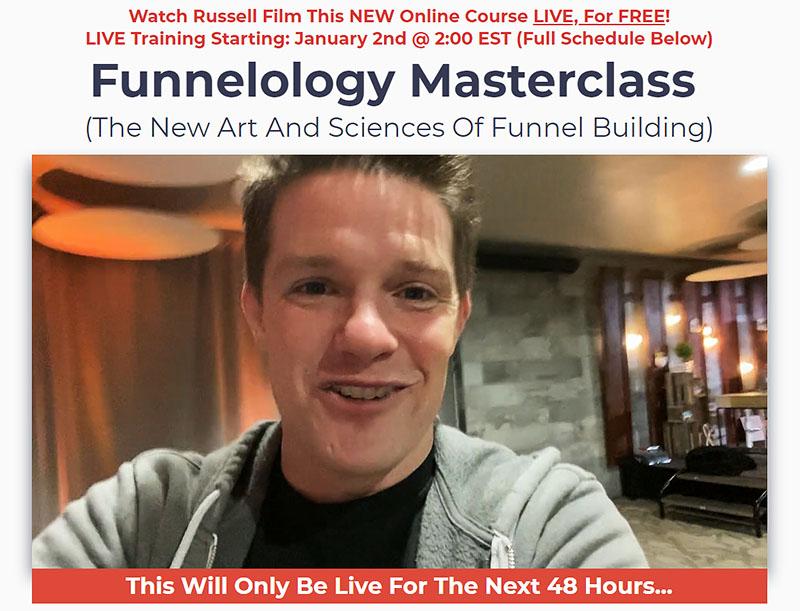 FREE Funnelology Masterclasses