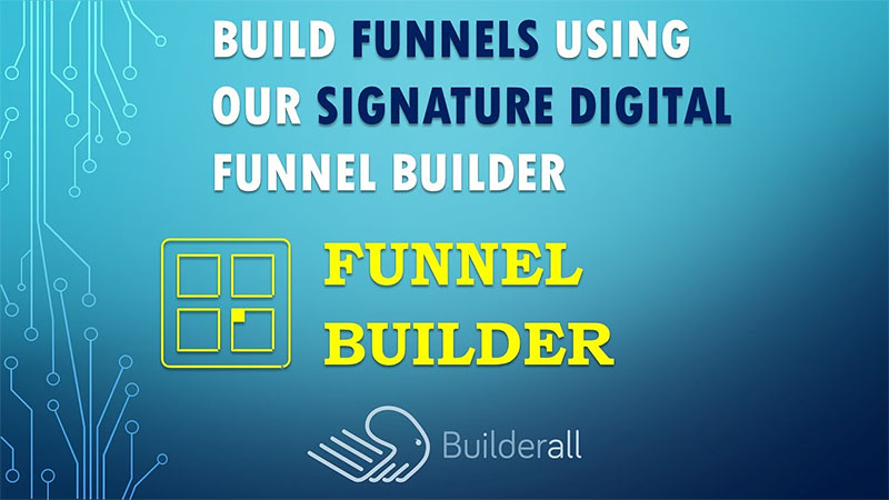 Builderall Digital Canvas Funnel Builder